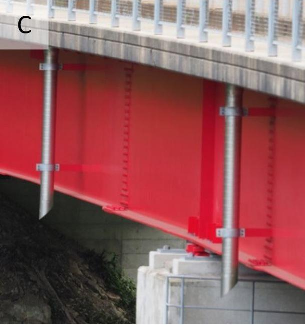 橋梁排水 垂れ流し