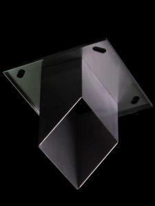 天板プレート一体型排水管角管仕様例