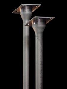 天板プレート一体型排水管導水パイプへ使用例