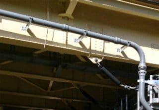 橋梁用排水装置 比較表用VP塩ビ写真