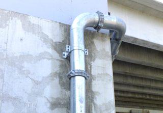 橋梁用排水装置 比較表用SGP写真
