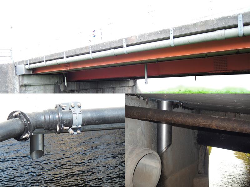 橋梁排水補修 施工事例