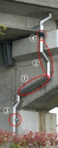 高気密ステンレス排水管仕様説明