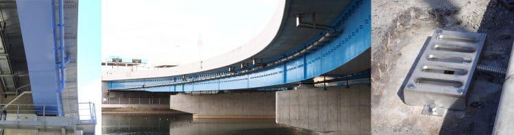 橋梁用排水装置の各種ご提案