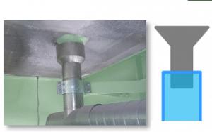 TSステンレス排水装置の絶縁例