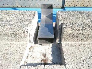 橋梁用 地覆 横引 排水装置 プレテンホロー 11