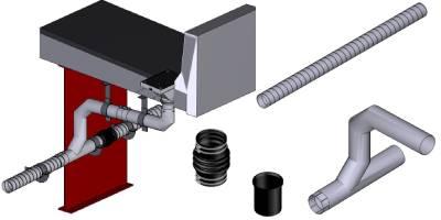橋梁用排水装置 排水管 CAD